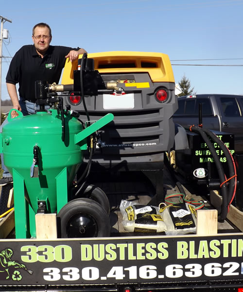 Fleet Vehicle Maintenance - 330 Dustless Blasting