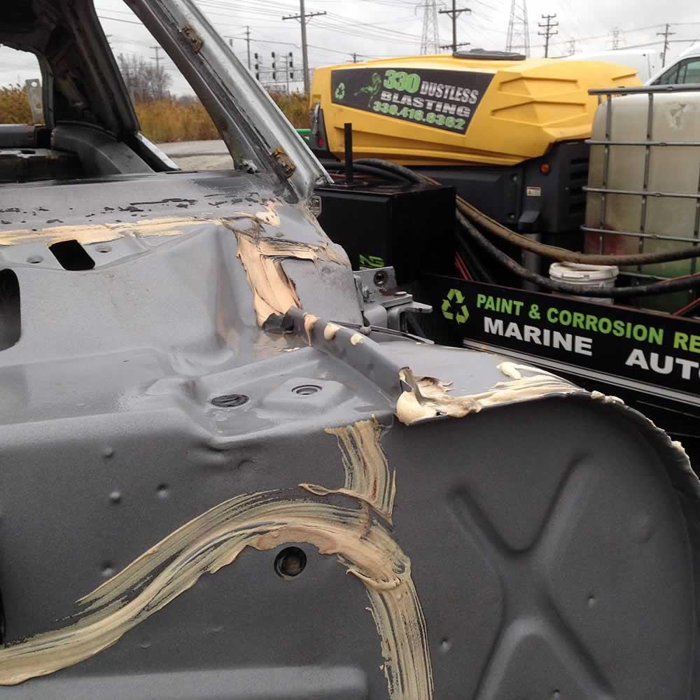 330 Dustless Blasting Automobile Restorations