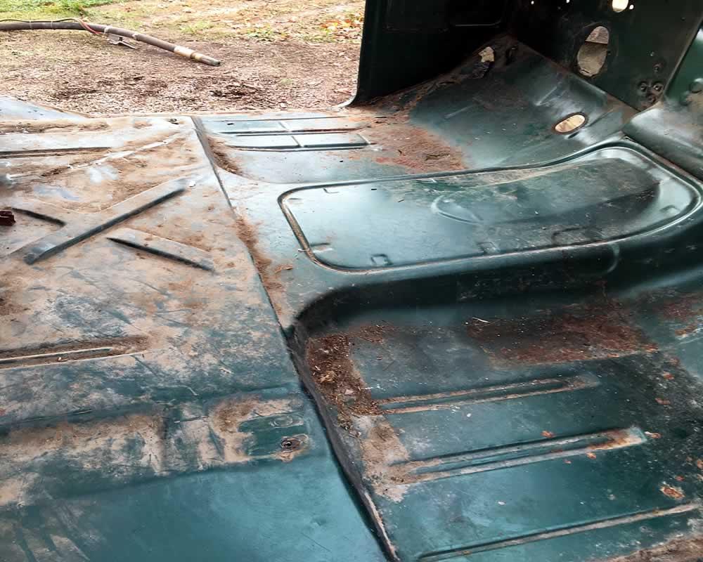 Automotive Restoration Services - 330 Dustless Blasting