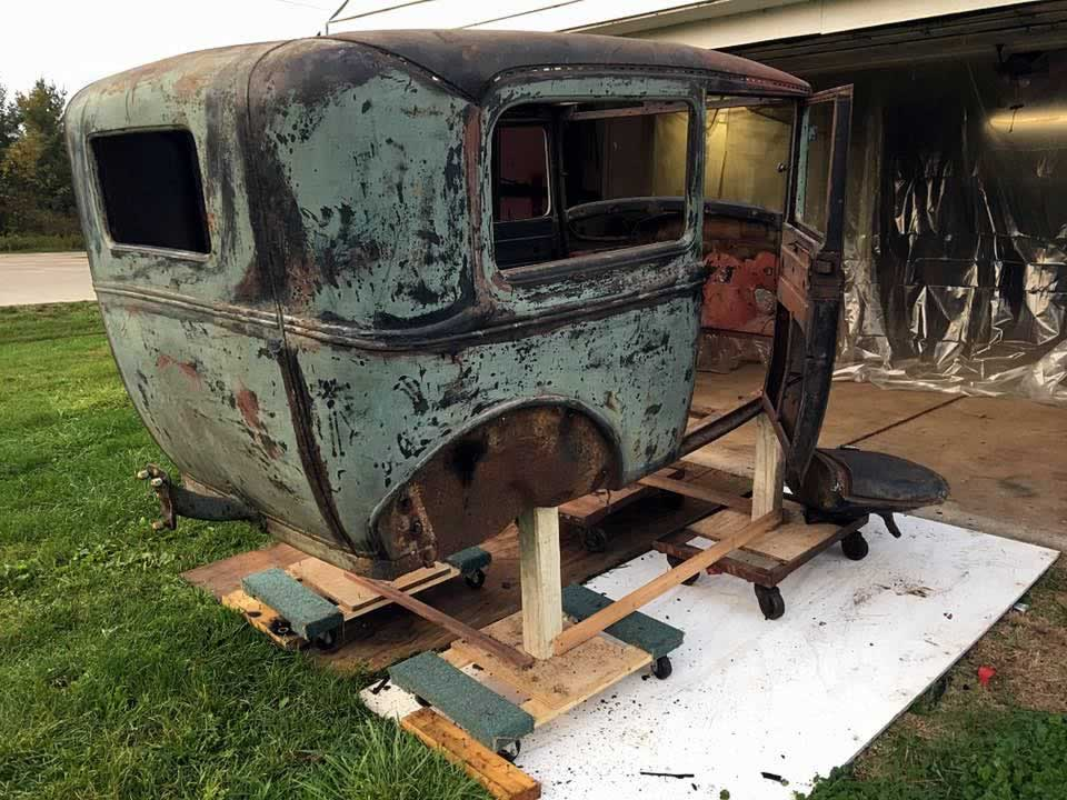 1931 Automotive Restoration - 330 Dustless Blasting