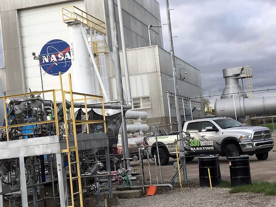 330 Dustless Blasting at NASA Glenn Research Center