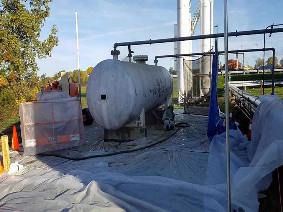 330 Dustless Blasting at NASA Glenn Research Center