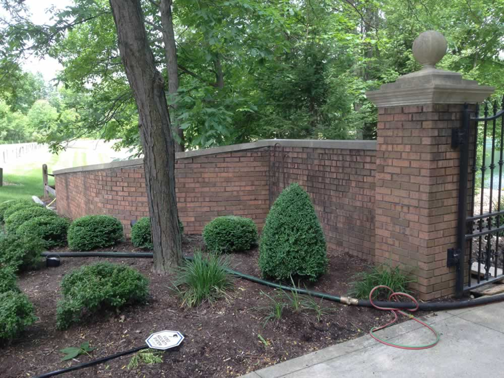 Residential Exterior Brick & Stone Cleaning Services