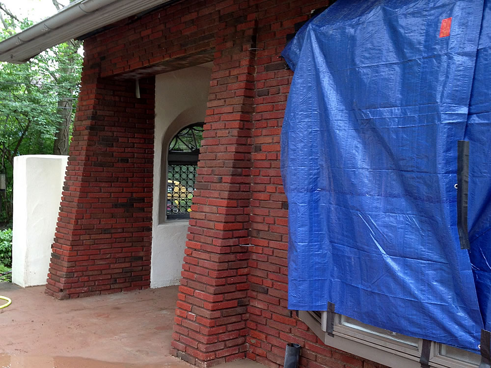 Residential Exterior Cleaning Services - Brick and Stone
