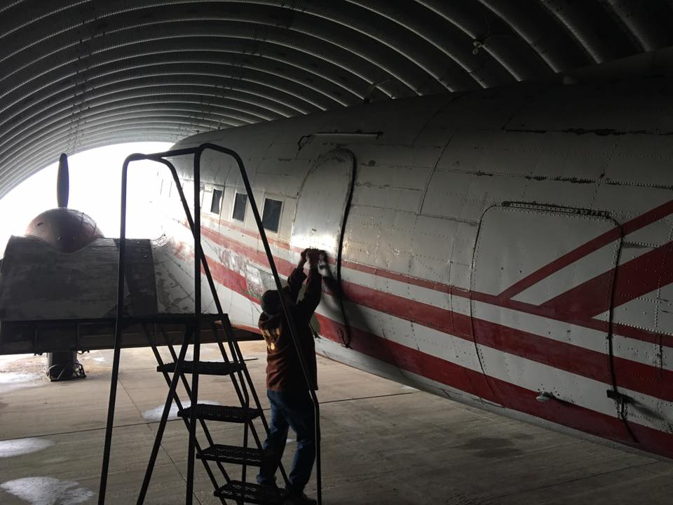 Restoration of Douglas C-53 SkyTrooper Airplane