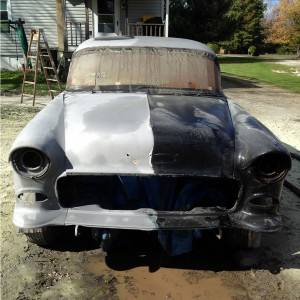 330 Dustless Blasting - 1955 Chevy Restoration