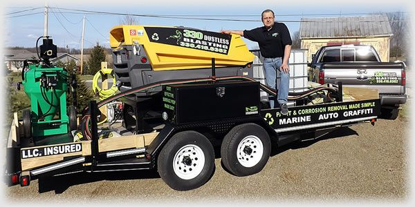 330 Dustless Blasting Owner Jeff Komjati