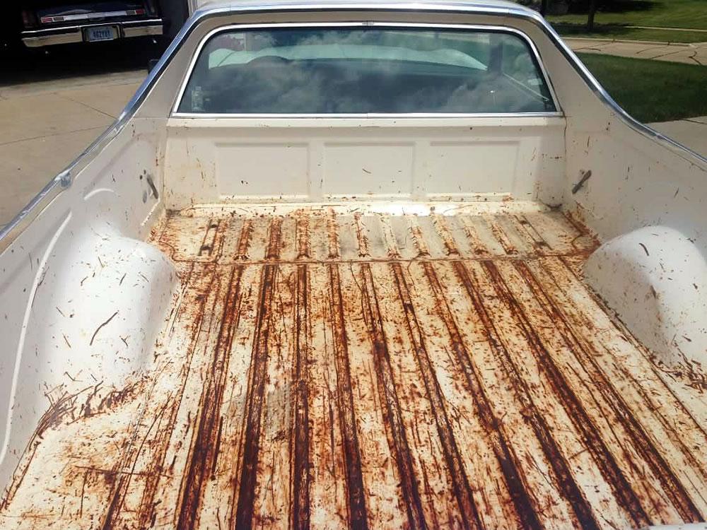 Ford Ranchero Auto Restoration Project - 330 Dustless Blasting