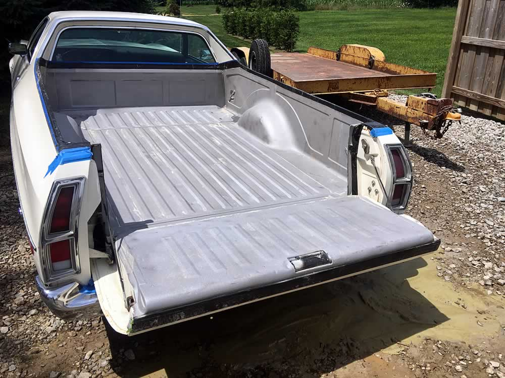 Ford Ranchero Auto Restoration Project - 330 Dustless Blasting