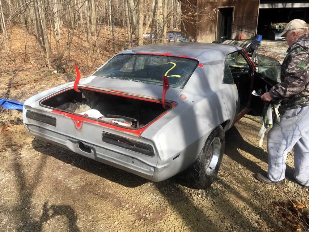 Camaro Restoration Project