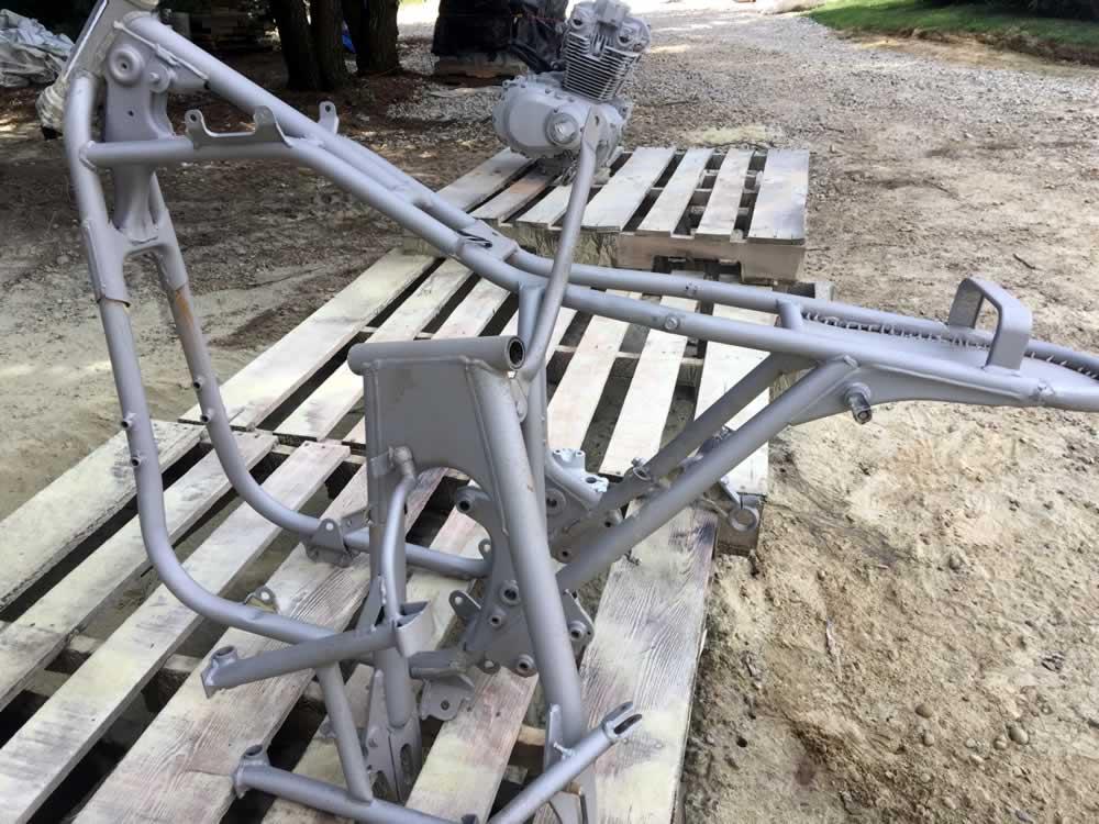 Motorcycle Frame - Restoration Project