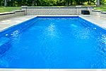 Outdoor Pools - Concrete Cleaning