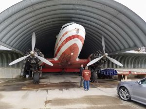 330 Dustless Blasting Airplane Restoration