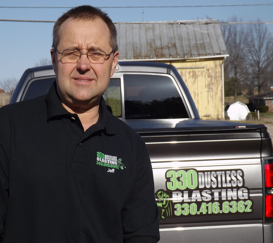 Jeff Komjati, Owner - 330 Dustless Blasting