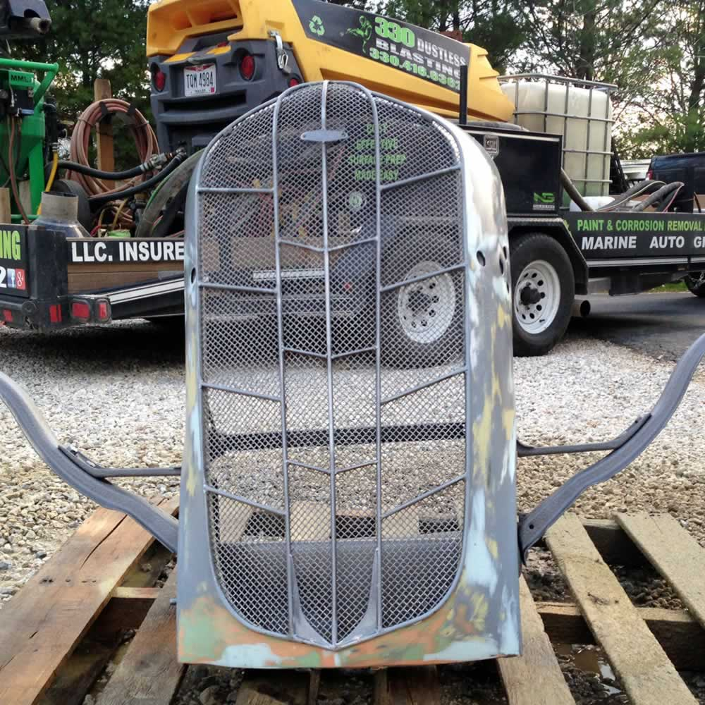 Hot Rod Grille - 330 Dustless Blasting