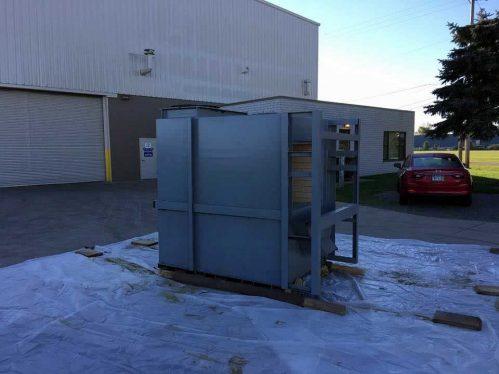 Cleaning Industrial Equipment - 330 Dustless Blasting