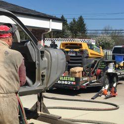 Classic Auto Restoration - 330 Dustless Blasting