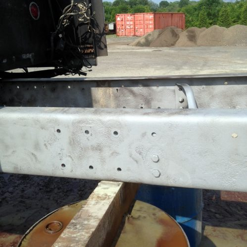 Kenworth Frame Maintenance - 330 Dustless Blasting