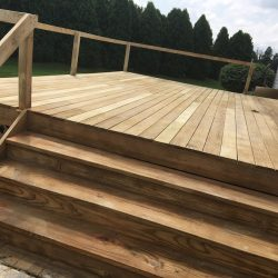 Residential Deck Cleaning - 330 Dustless Blasting