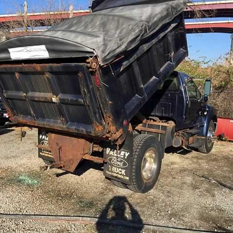 Truck Restoration - 330 Dustless Blasting