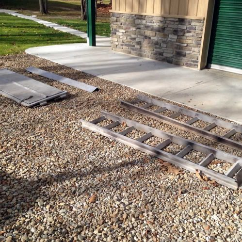 Contractor Equipment Restoration - 330 Dustless Blasting