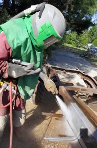 Fleet Restoration Maintenance - 330 Dustless Blasting