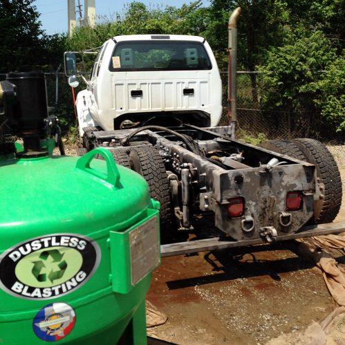 Heavy Duty Truck Frame Restoration - 44281