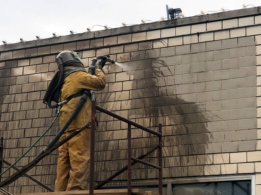 Commercial Building Power Washing - Akron Medina OH