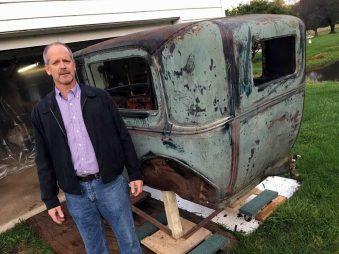 1931 Auto Restoration - 330 Dustless Blasting