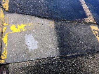 Asphalt Parking Lot Cleaning - 330 Dustless Blasting
