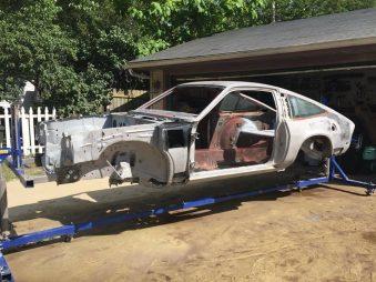Automotive Surface Preparation - 330 Dustless Blasting